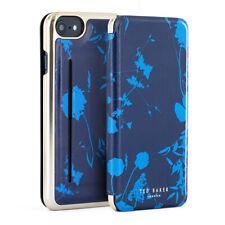 Ted Baker® WANDDA Card Slot Folio Case for iPhone SE 2020 / 8 / 7 - Bluebell