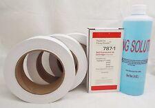 787-1 Max Volume Ink Cartridge + 613-H Roll tape + 16 oz sealing solution