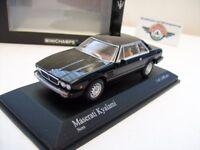 Maserati Kyalami, black, 1982, Minichamps 1:43, OVP