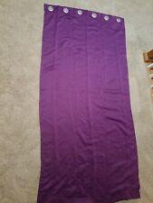 Mainstays Blackout Energy Efficient Grommet Curtain Panel Purple 40x84