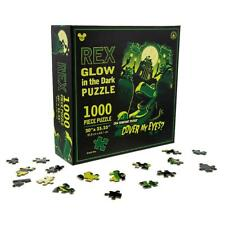 DISNEY PARKS GLOW IN THE DARK PUZZLE REX:CAN SOME PLEASE COVER MY EYES? 1000 PCS