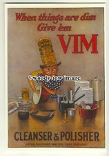 ad3597 - Vim - Cleanser & Polisher - Lever Brothers -  Modern Advert Postcard