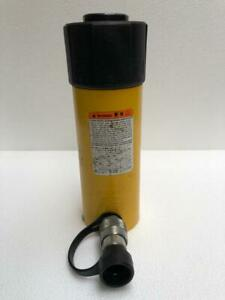 """ENERPAC RC 256 DUO SERIES HYDRAULIC CYLINDER 25 TONS CAPACITY 6"""" STROKE"""