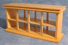 Wooden Pine Shop Counter, Dolls House Miniature, Miniatures, Display Case