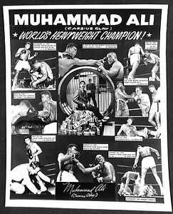 "Muhammad Ali World's Heavyweight Boxing Champion Original 8 x 10"" Photo Poster"