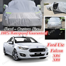 Premium Car Cover Double Thick Large Waterproof Guaranteed Ford Falcon SR6 SR8