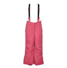 Children Kids Girls Ski/Snow Wear Pants in Pink Size 2-10 Water/Wind proof