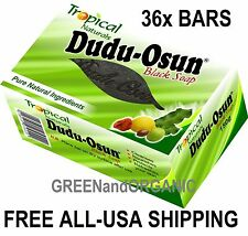 Commerce de Gros de 36 Barres 100% Original Dudu-Osun Savon Noir Africain