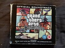GRAND THEFT AUTO SAN ANDREAS Official Soundtrack 3 CD Set