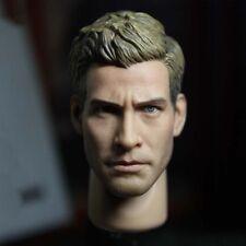 """Hot FIGURE 1/6 Scale Jake Gyllenhaal Head Sculpt model For 12"""" Male Figure Body"""