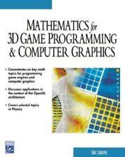 Mathematics for 3D Game Programming & Computer Graphics (Game Development Series
