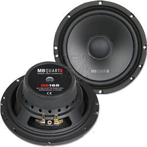 MB QUART QS 165W - 16,5cm Tieftöner Woofer 165mm Kickbass Lautsprecher Paar