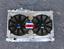 Aluminum Radiator For 2000-2009 Honda S2000 I4 2ROW +Shroud & Fans