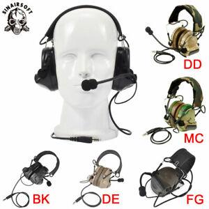 Z-Tactical Comtac II Electronic Headset Noise Reduction Headphone Earphone Z041