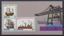 Singapur (Singapore) - Michel-Nr. Block 4 postfrisch/** (Schiffe / Ships)