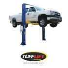 2 Post Car Hoist, Clear Floor, Overhead 4 Ton 4000 Kgs TUFFLIFT
