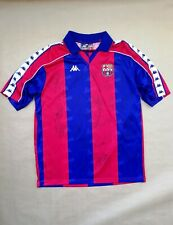 1992-93 Barcelona signed shirt Kappa  Cruyff Guardiola Koeman Stoichkov laudrup