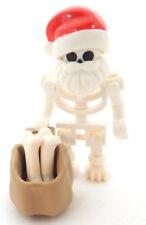 NEW LEGO SKELETON SANTA CLAUS minifigure figure minifig christmas ghost