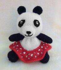 KNITTING PATTERN - Soo inspired chocolate orange cover/ 15 cms Sooty Panda toy
