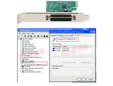 1-Port PCI Parallel Printer Port LPT Expansion Adapter Card For Win10 Win8 Win7