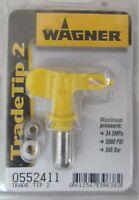WAGNER TRADE TIP 2 0552411 UGELLO PER PISTOLA VERNICE AIRLESS ORIGINALE 345 bar