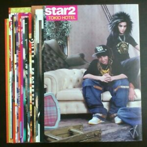 Tokio Hotel Bill Kaulitz Tom magazine posters clippings lot collection set #2