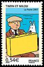 Timbre de 2007 - Les voyages de Tintin - Tintin et Milou - N° 4051