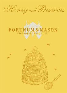 Fortnum & Mason HONEY & PRESERVES  9780091943677  FREE SHIP to OZ  Hardcover