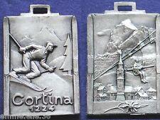 MEDAGLIA CORTINA D'AMPEZZO Mt.1224 BELLUNO SCI SKI PANORAMA SEGGIOVIA DISCESA