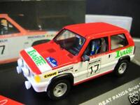 FIAT SEAT Panda Rallye Gr. 2 1982 #17 Sainz Spain RAR IXO Altaya 1:43