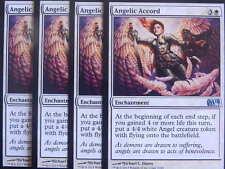 XXX 4x ANGELIC ACCORD englisch magic 2014 M14 (angel white) NM/MINT XXX XXX XXX