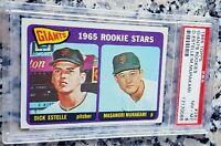 MASANORI MURAKAMI 1965 Topps Rookie Card RC PSA 8 S.F. Giants 1st Japanese MLB