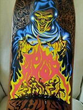 Santa Cruz Tom Knox Fire pit brown version skateboard deck reissue