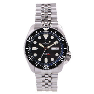 SKX007 Mens Watches  Automatic/Mechanical Diving Watch Male Sport Wristwatch
