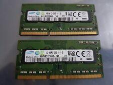 Samsung M471B5173BH0 CK0 8GB 2x4GB PC3 12800 DDR3 1600MHz SO DIMM LAPTOP RAM