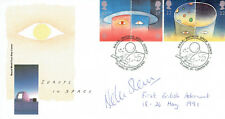 Helen SHARMAN SIGNED Autograph AFTAL 1st British Astronaut FDC First Day Cover 6