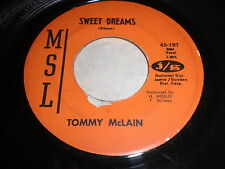 Tommy McLain: Sweet Dreams / I Need You So 45