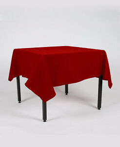 Rectangle Fabric TABLE CLOTH / COVER Over locked using top Quality cotton thread