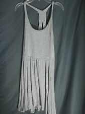 Urban Outfitters Kimchi Blue Women's open back strap gray wrap Dress Size M NWT