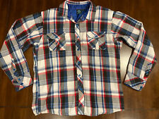 Burnside Flannel Shirt Mem's Size L