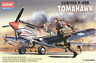 NEW ACADEMY P-40B TOMAHAWK 1/72 MODEL KIT NAVY ARMY WAR MILITARY ARMOUR VEHICLES