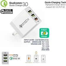 Quick Fast Cube Wall Charger Qualcomm QC 3.0 12W 18W For Iphone,Samsung,LG,HTC