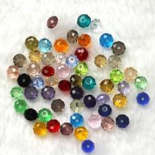98Pcs Multicolor  Loose Bead 4X6 mm N.03