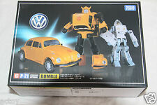 99TAKARA TRANSFORMERS MASTERPIECE CP MP-21 BUMBLEBEE+SPIKE ACTION FIGURES