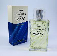 ROCHAS EAU DE POUR HOMME 100 ML EDT toilette NEUF / emballé 1. parfum
