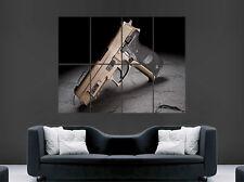 Cartel De Arma Pistola Sig Sauer P226 impresión gran imagen grande