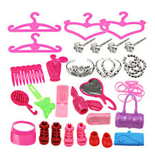 42pcs Doll Accessories For Barbie Doll for Kids Baby Toys