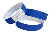 100 Braccialetti Tyvek - braccialetti - Braccialetti evento - blu/blue/blu
