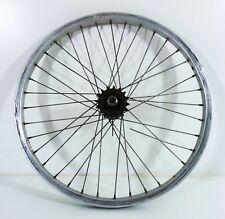 "20"" Old School BMX Mongoose Rear Wheel With Rear Hub and Freewheel Vintage Rim"