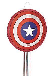 Marvel Avengers Assemble Captain America Bouclier 3D Pinata Fête Jeu